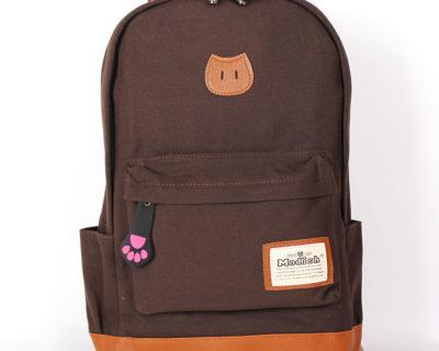 Рюкзак «Киса» коричневый