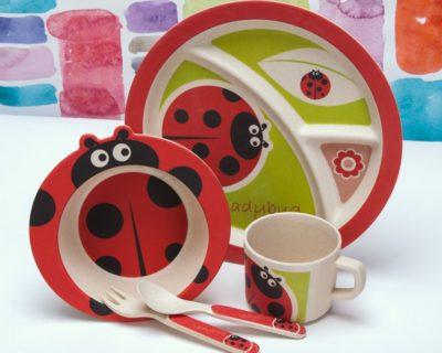 Детский набор посуды «Lady Bug»