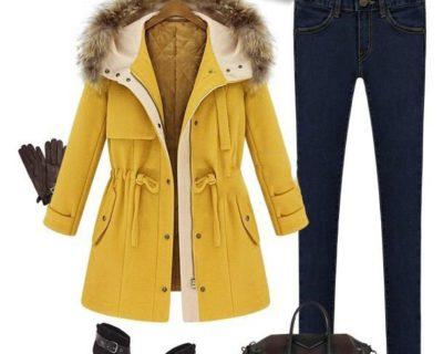 Пальто парка с капюшоном Lilma (48 размер)